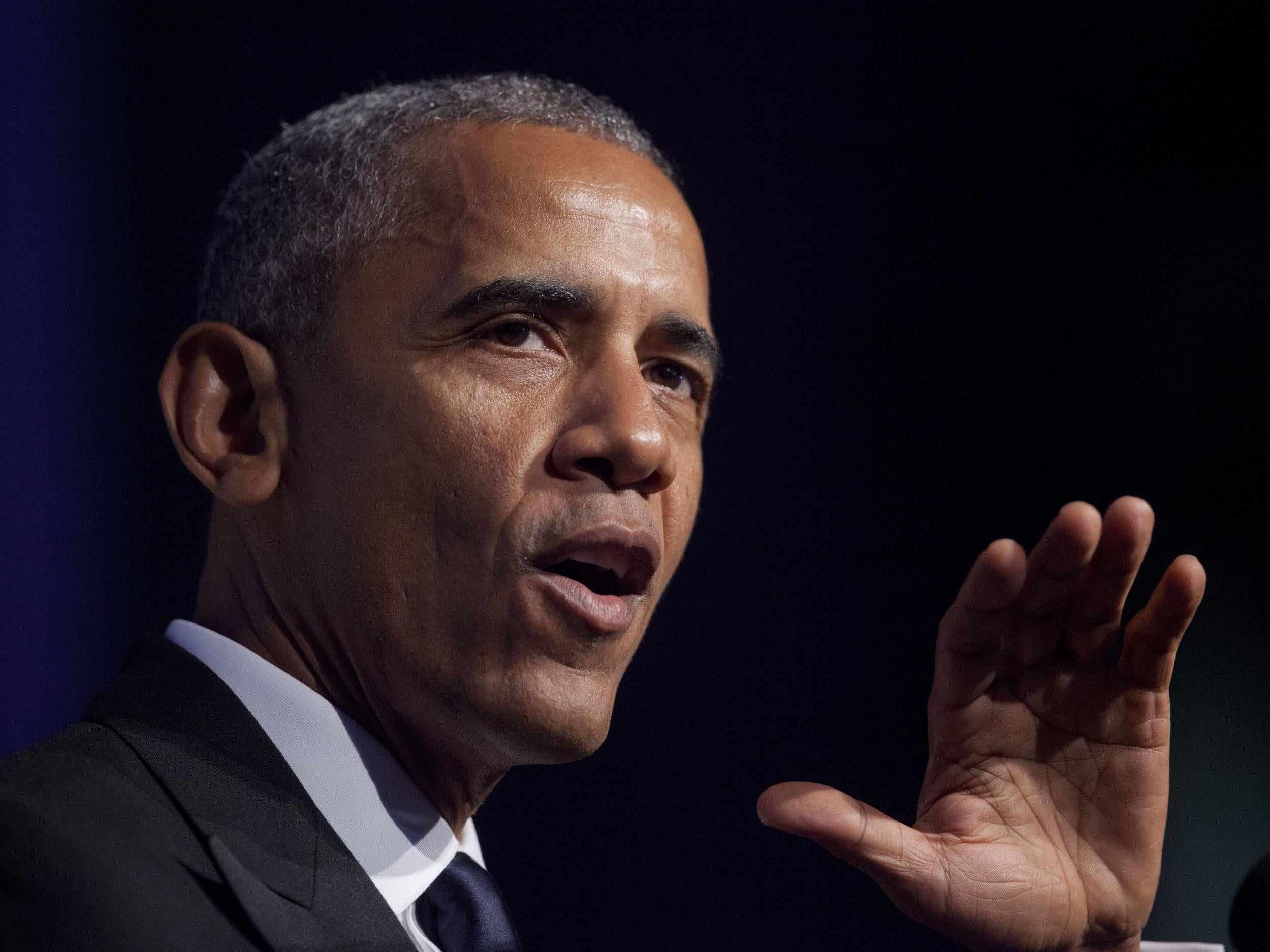 Barack Obama says any black person voting for Trump would be a 'personal insult' in extraordinary speech