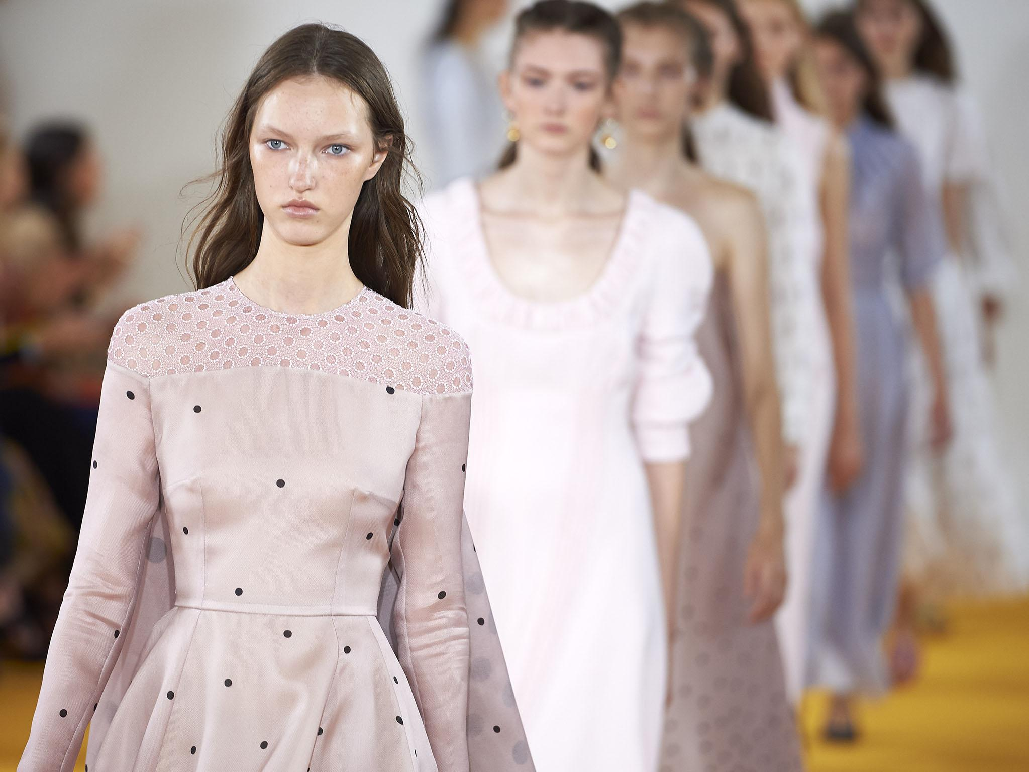 London Fashion Week: Tudor sleeves, warrior princesses and the mawkishness of young love