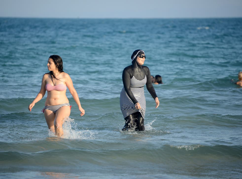 Women launch counter campaign after men posted photographs of women in bikinis online, saying they contradicted Algerian values