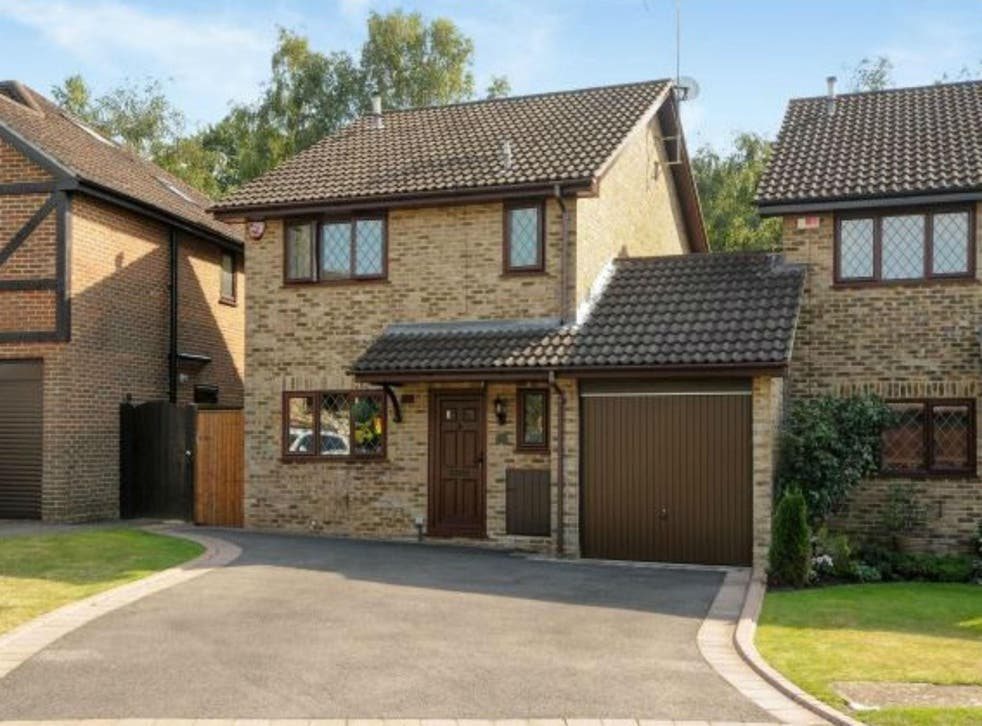 The real life 4 Privet Drive is actually a 3-bedroom house in Martins Heron, Bracknell