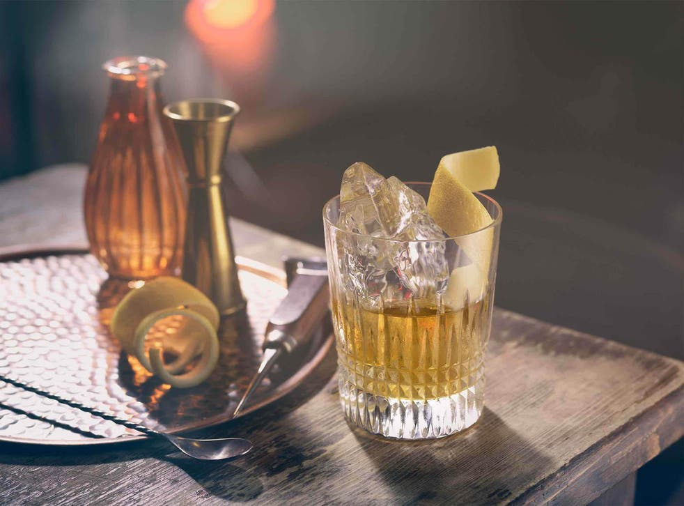 The rusty nail is thought to have debuted in the 1930s, becoming popular in the 60s