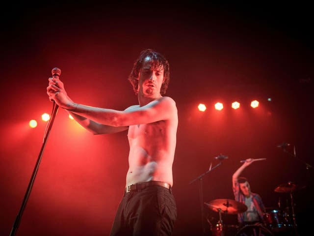 Fat White Family in concert at Brixton Academy