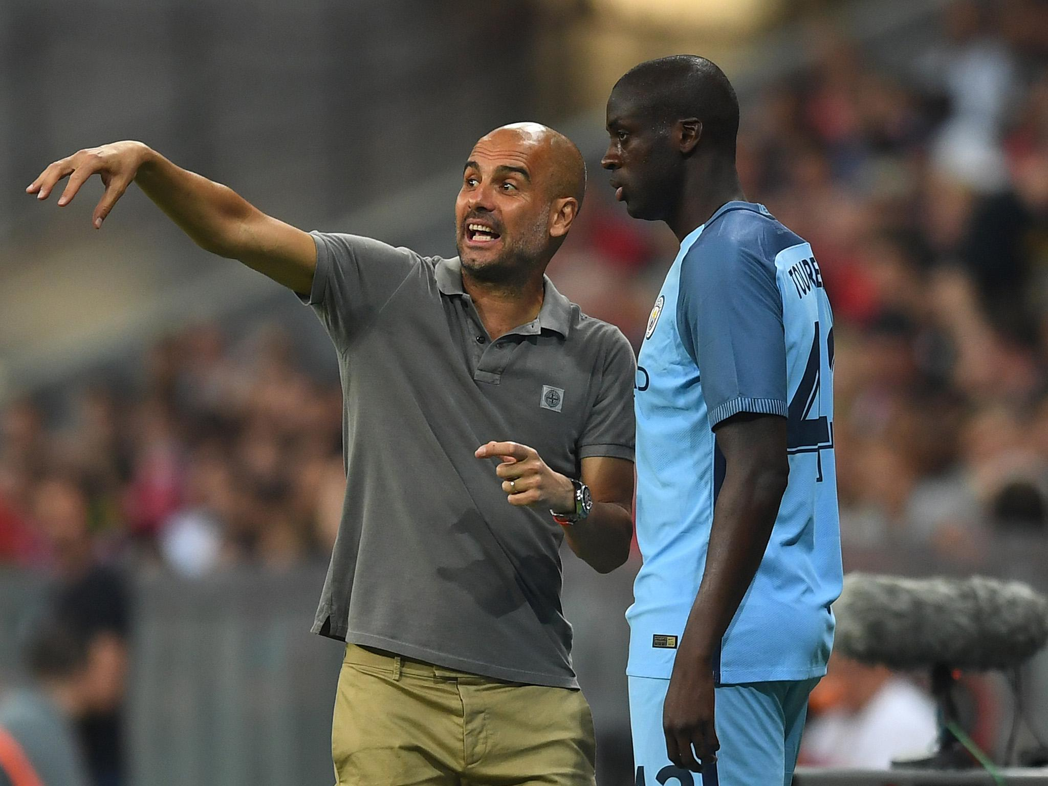 Pep Guardiola Says Yaya Toure Will Never Play For Manchester City Again Unless His Agent