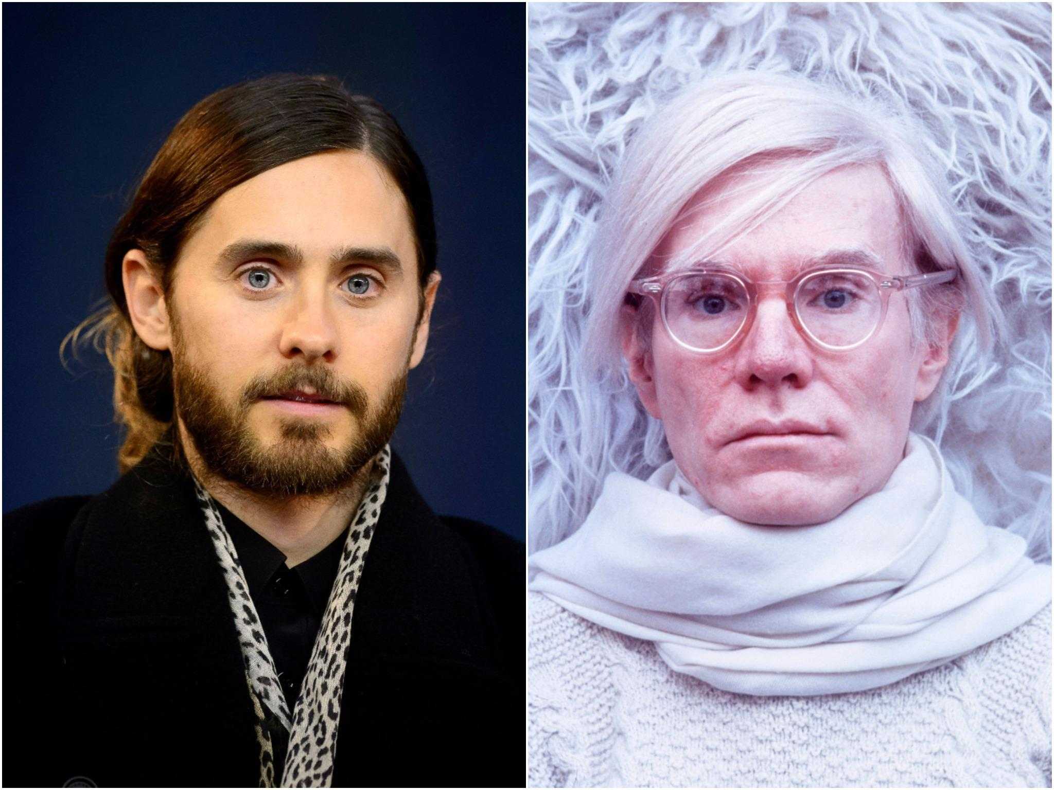 Jared Leto confirmed to play Andy Warhol in biopic from The Social Network producer