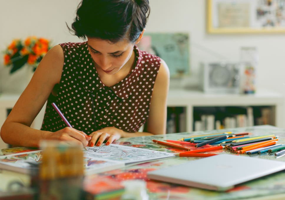 us colleges handing out colouring books to students to reduce stress