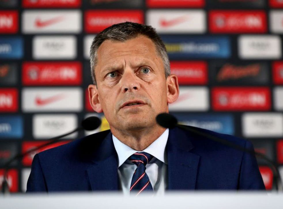 Martin Glenn announced the move as he outlined the FA's plans for 2018