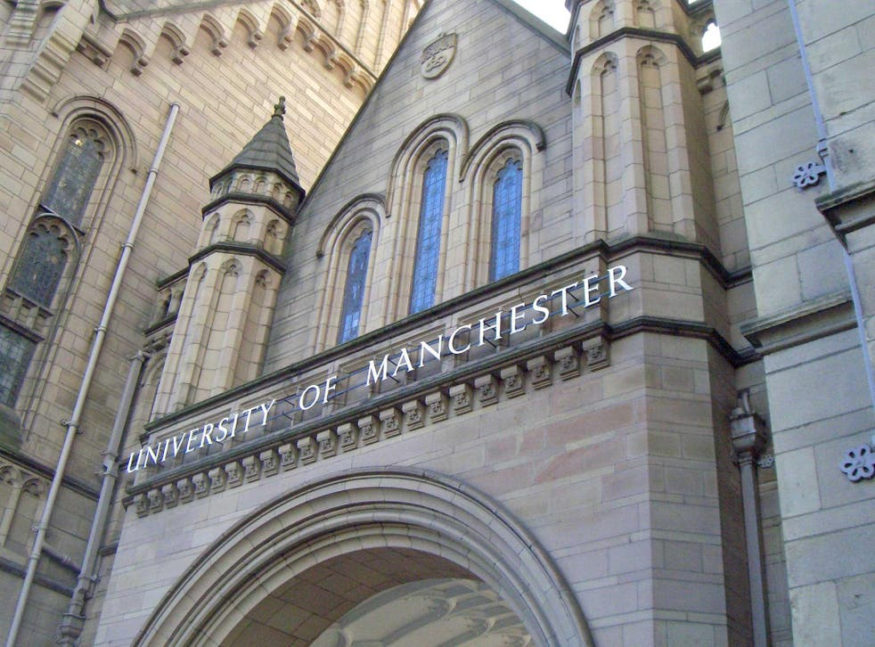 The University of Manchester censored the title of an anti-Israel lecture