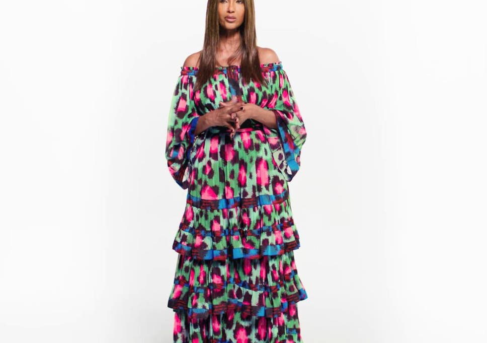 1a901680 Iman is just one of seven campaign stars to feature in the KENZO x H&M  campaign