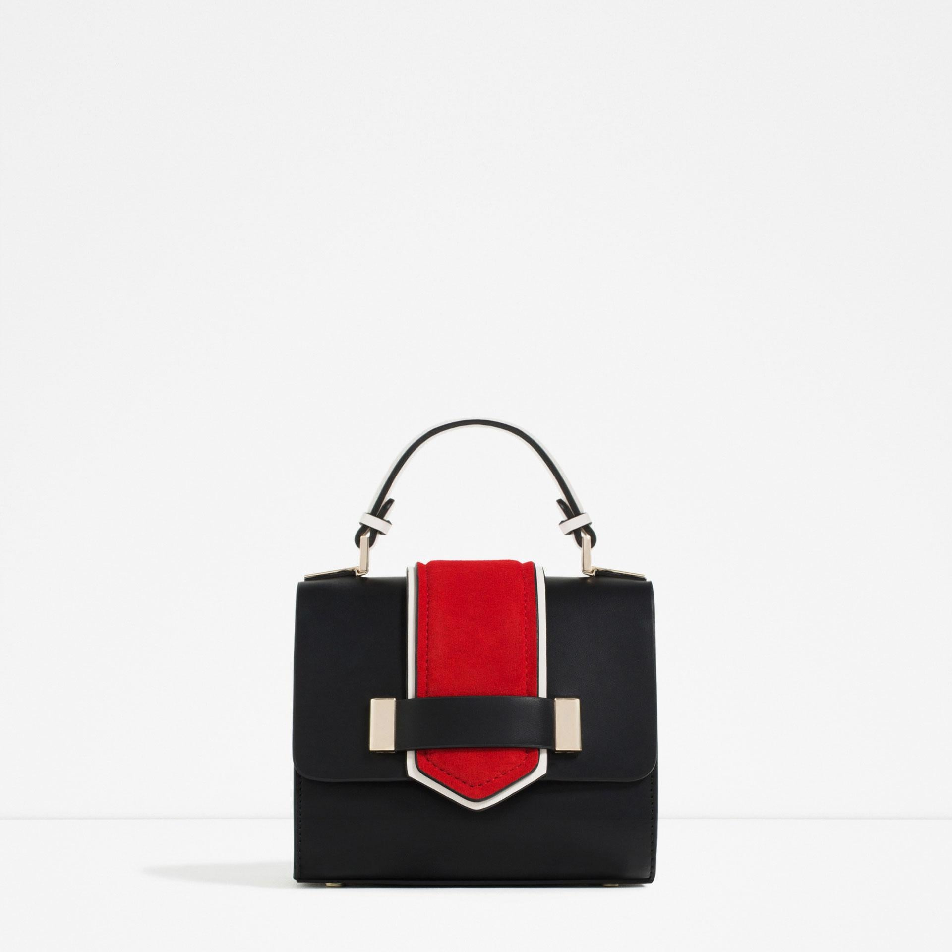 Mini Handbags For A Price 13 Tiny Bags You Can Buy Under Zara Double Strap Bag Contrast City 2999 From