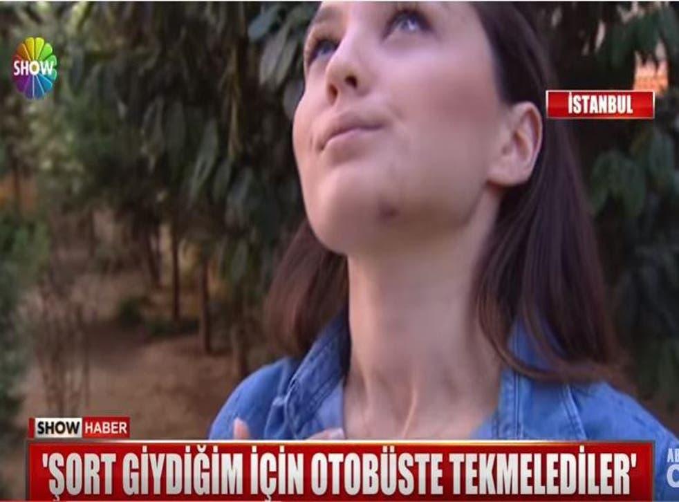 An interview with Ayşegül Terzi after the bus attack