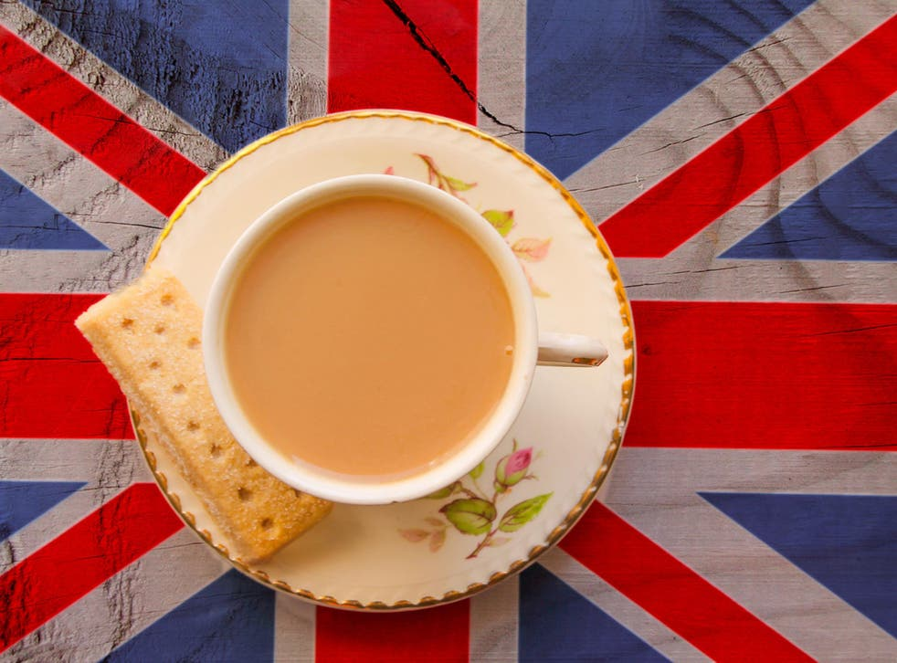 Tea consumption per person has fallen consistently since the early 1970s