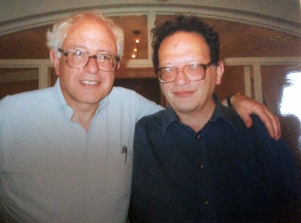 The Sanders brothers were born in Brooklyn before Larry (right) moved to Britain in the 1960s
