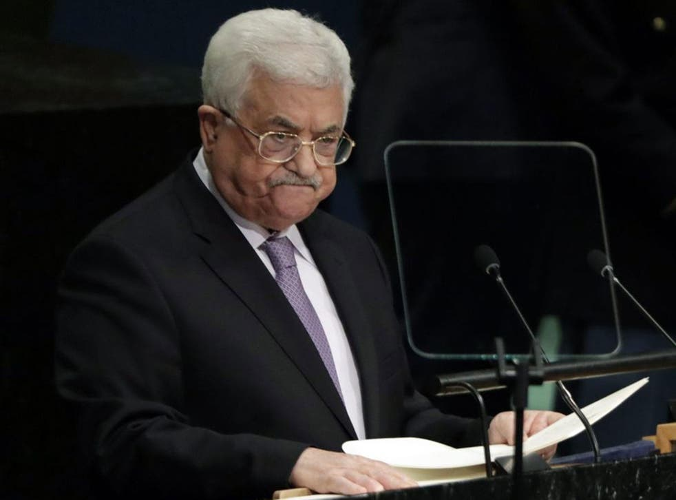 Mahmoud Abbas has reportedly been taken to hospital