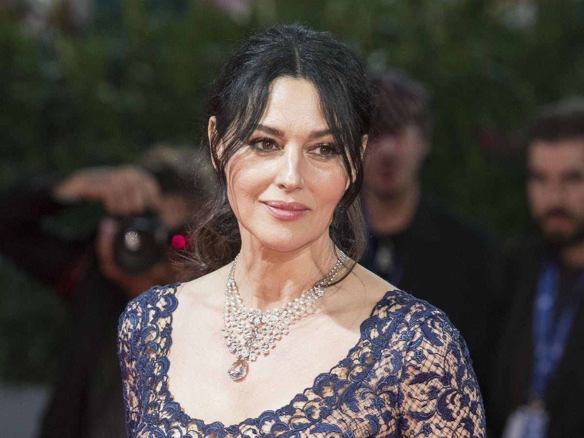 Monica Bellucci interview: 'Love and sexuality is a matter of energy not  age'   The Independent   The Independent