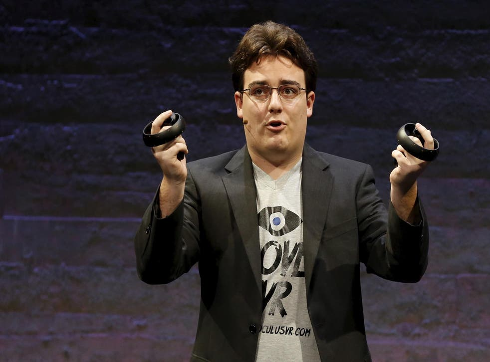 Mr Luckey left Facebook and Oculus under a cloud