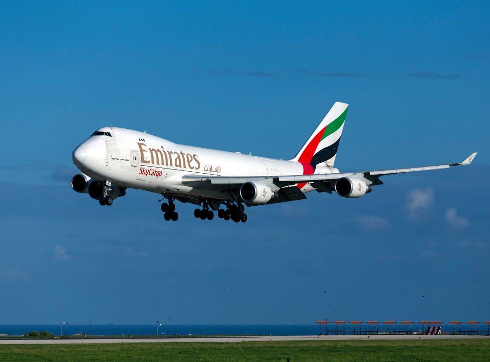 Emirates said it removed the passenger for their own safety