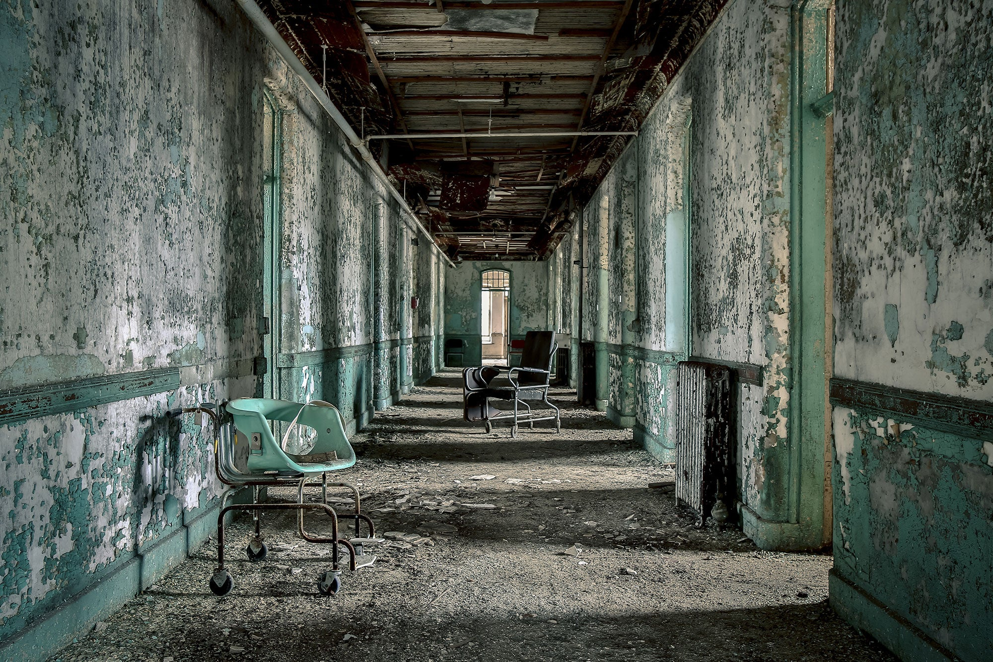 The abandoned asylums of North America