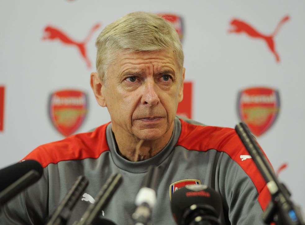 Arsene Wenger spoke on Friday ahead of his side's clash on Saturday against Chelsea