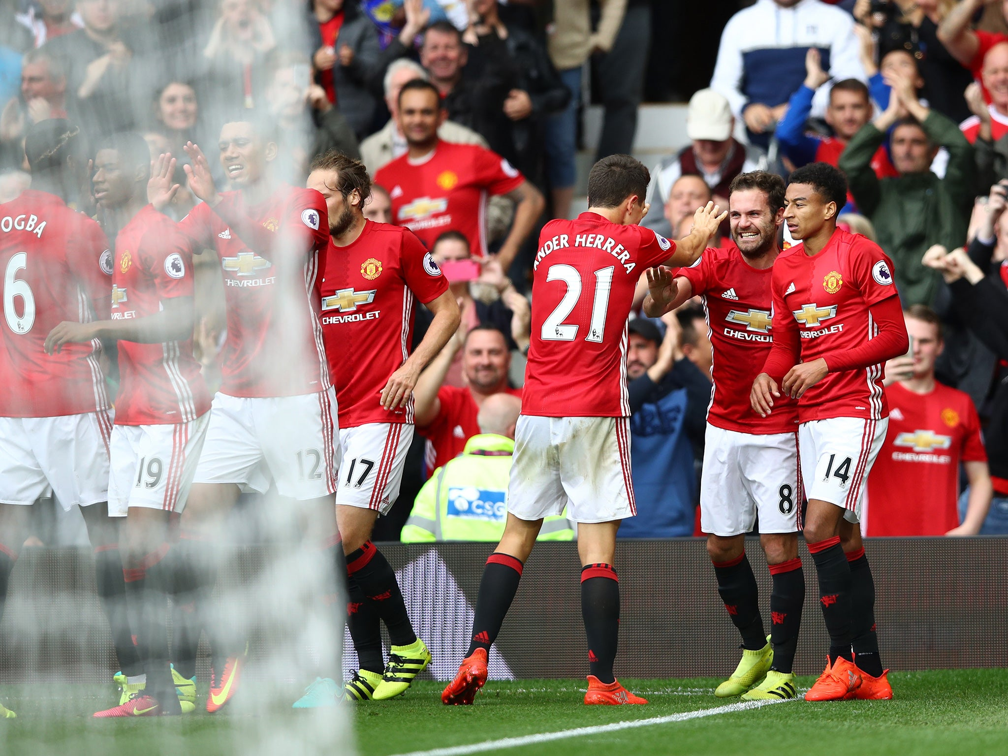 Manchester United vs Leicester player ratings: Who impressed during an emphatic win for Jose Mourinho's men?