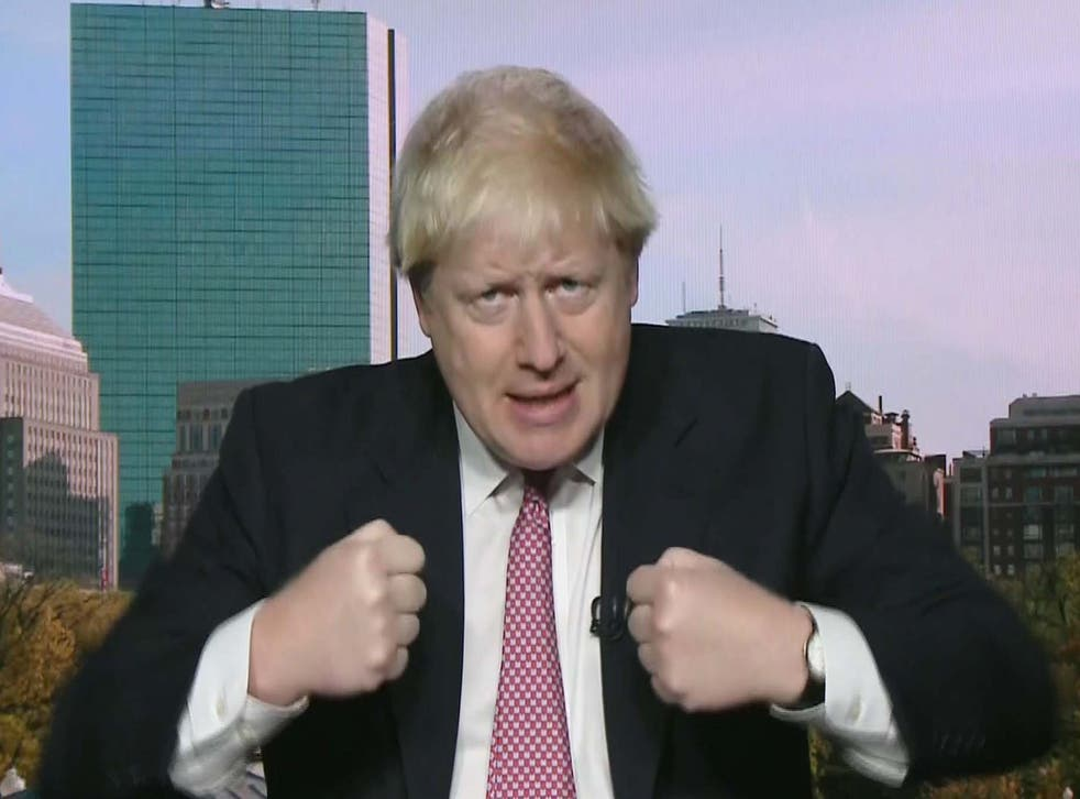 The Foreign Secretary on the Andrew Marr Show last weekend