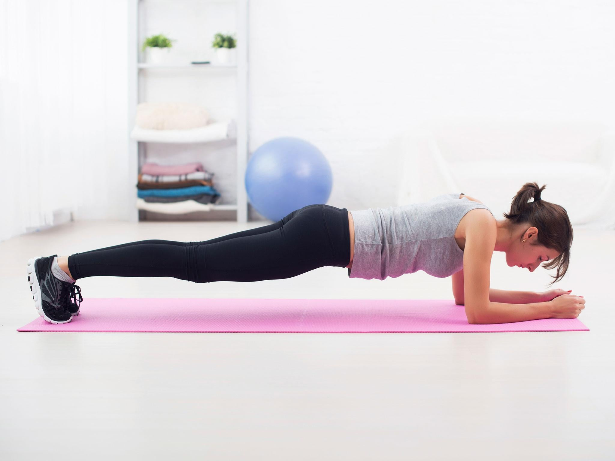 How to plank and increase your core strength without injuring yourself