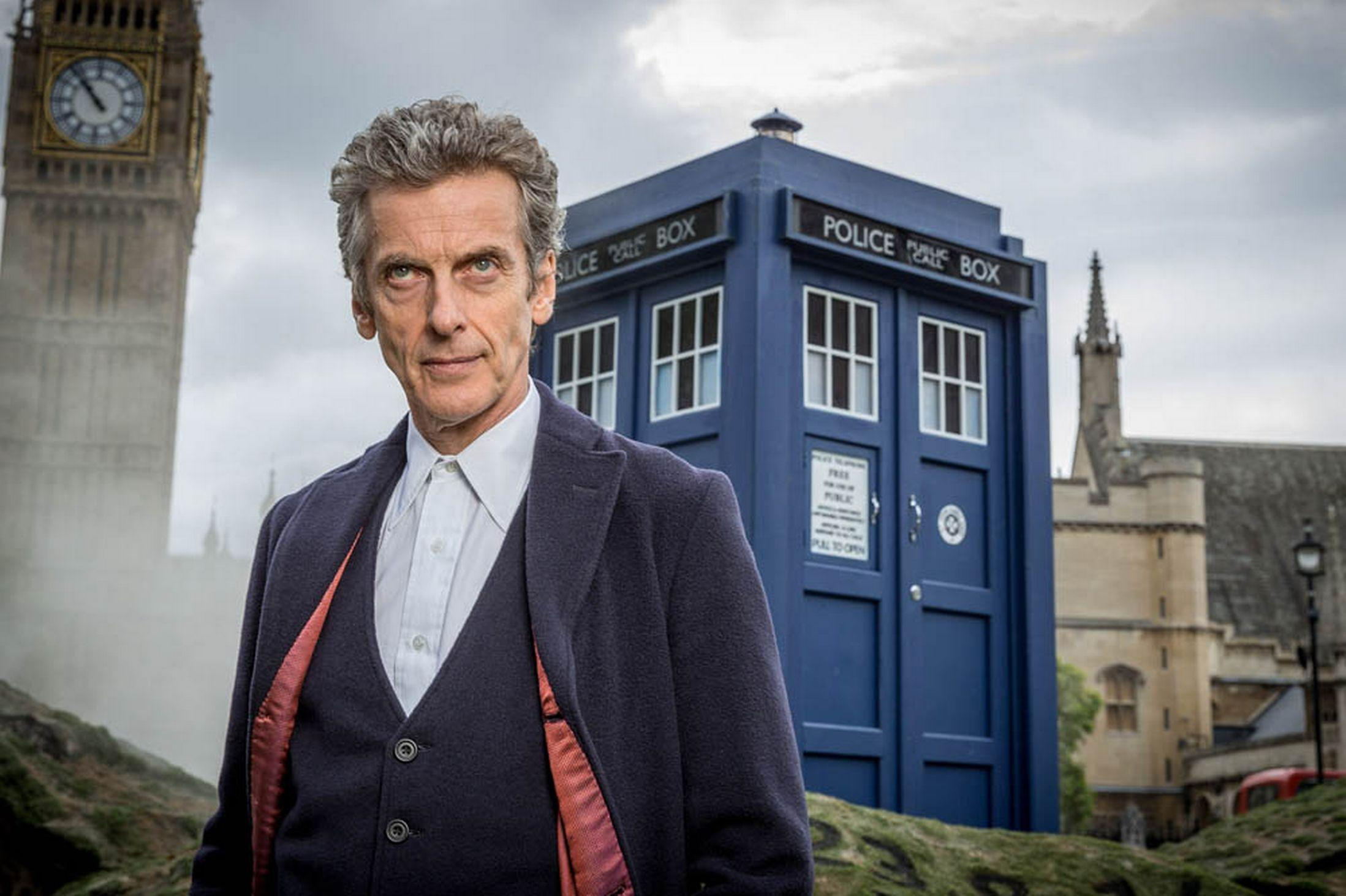 Image result for peter capaldi doctor who