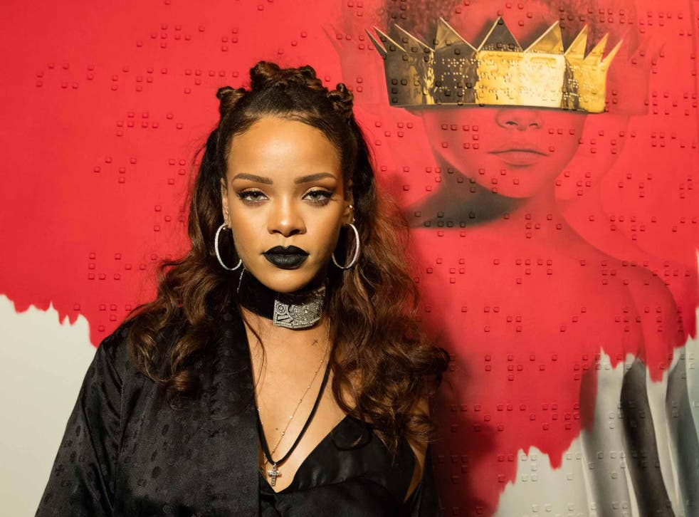 'Obviously Rihanna looked amazing and then I realised that I could pull together an outfit that'll look very similar to hers'