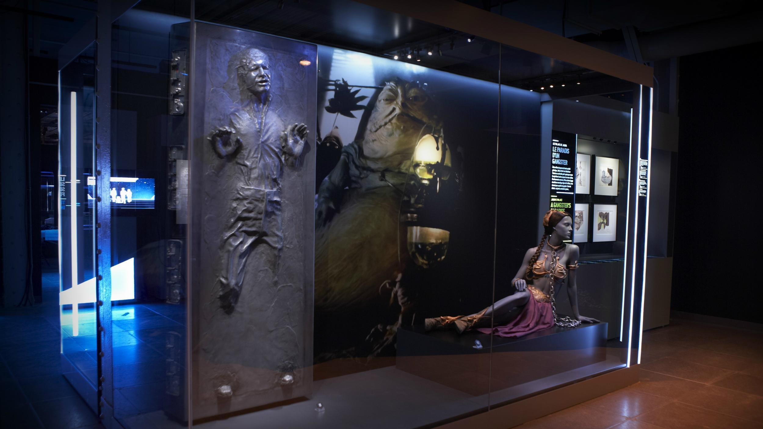 D Exhibition In London : Star wars exhibition coming to londons the o2 to feature over 200