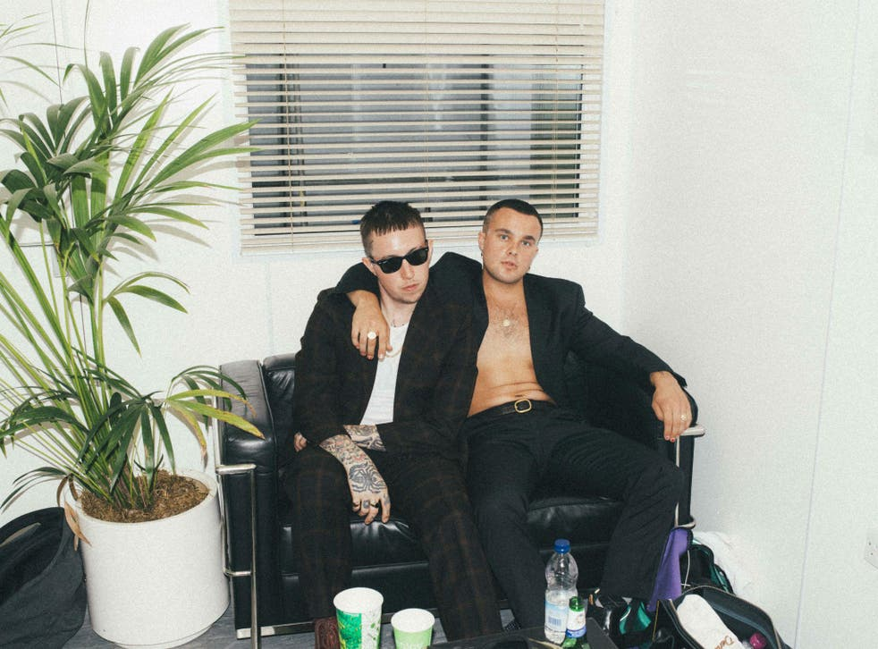 Slaves' Laurie Vincent and Isaac Holman