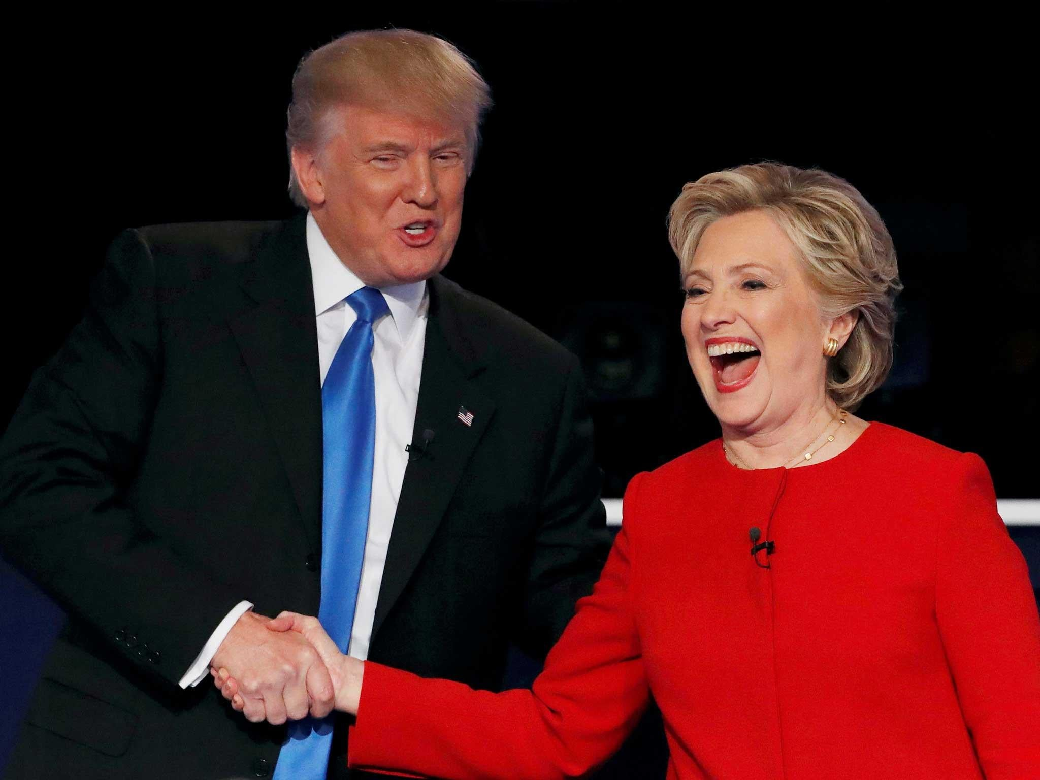 Watching Trump and Clinton debate Isis from my home in the Middle ...