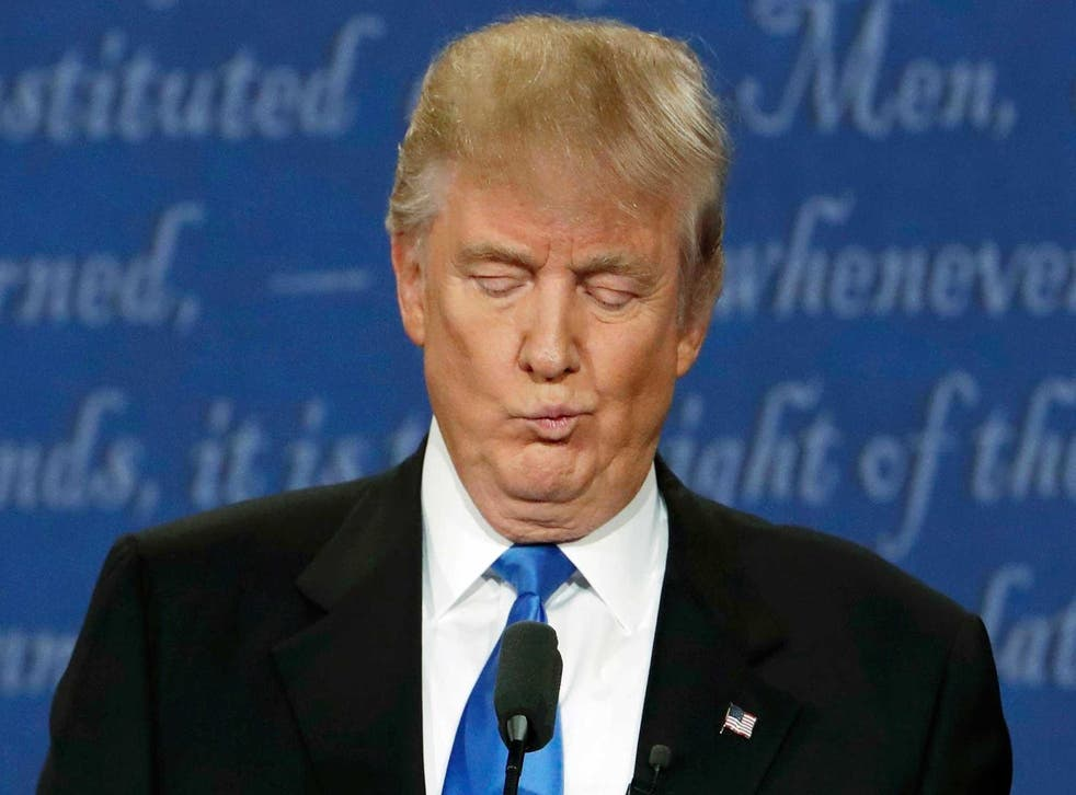 'There were issues regarding Donald Trump's audio that affected the sound level in the debate hall,' the Commission on Presidential Debates said