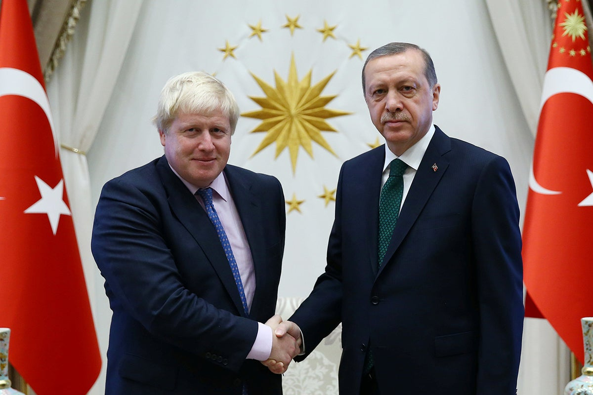 I recognise Boris Johnson's coup for what it is because I've seen this before – in Turkey
