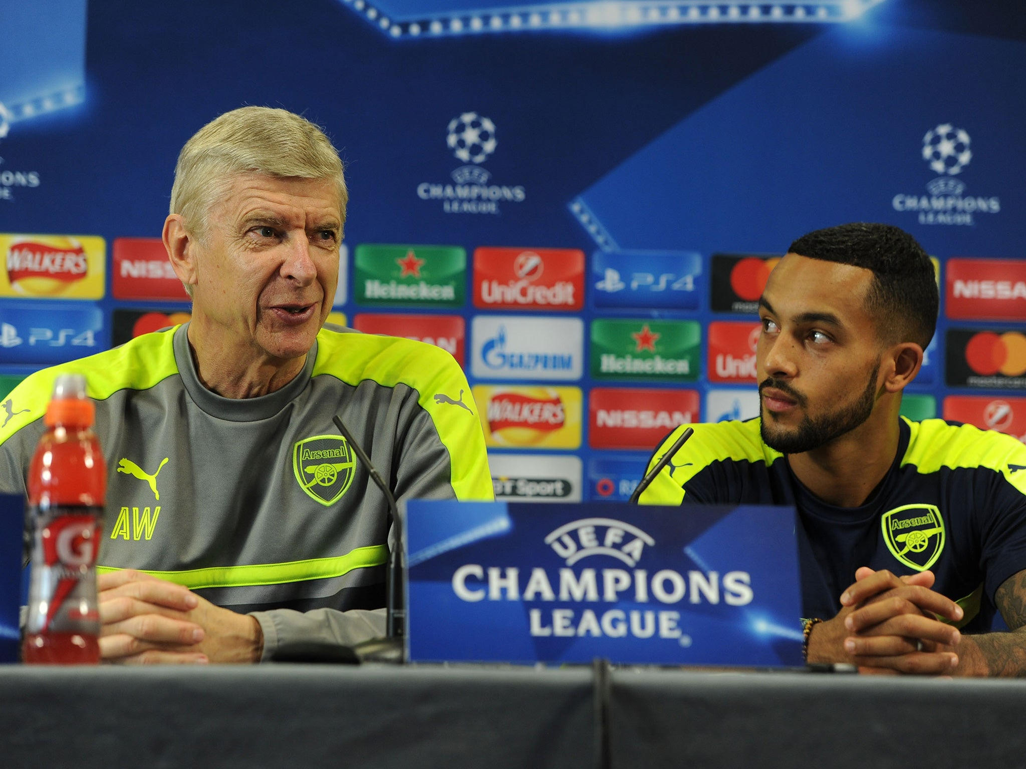 Arsenal vs Basel: Arsene Wenger warns his players against slipping on traditional banana skin side | The Independent