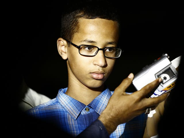 Ahmed Mohamed said he was made to feel like he 'wasn't human' during the ordeal
