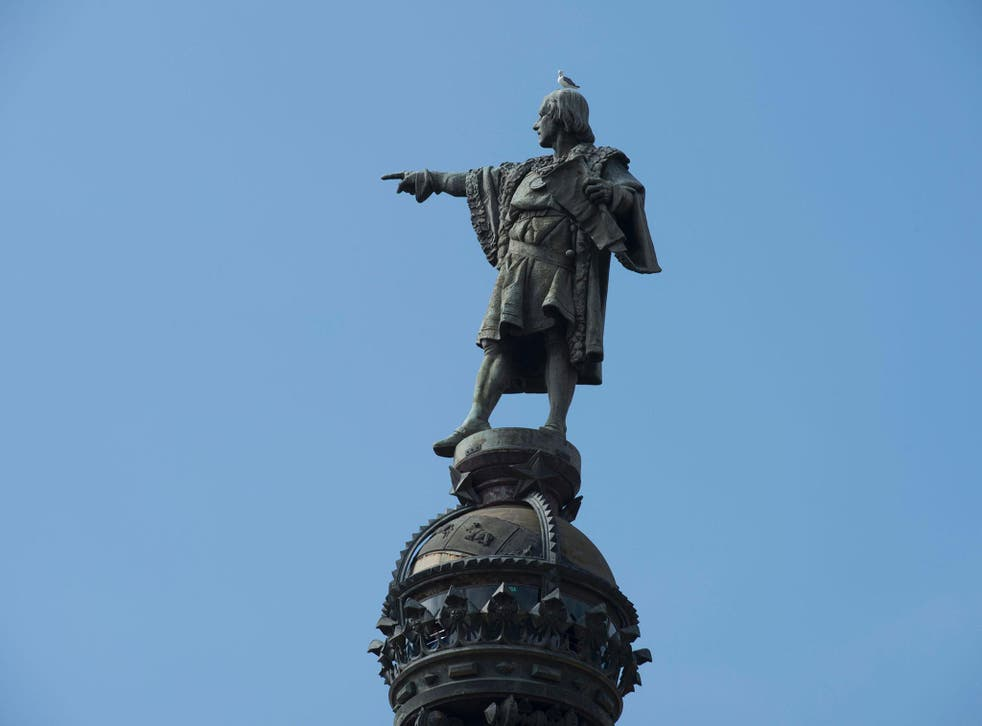 Pro-independence Catalan anticapitalist party CUP will propose today the withdrawal of Christopher Columbus' statue in Barcelona, one of the most representative monuments of the city, because they say it exalts slavery and imperialism