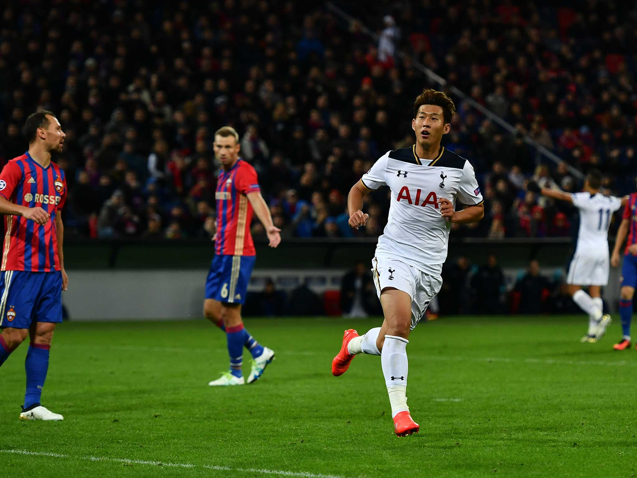 Cska moscow vs tottenham heung min son continues journey for Son heung min squadre attuali