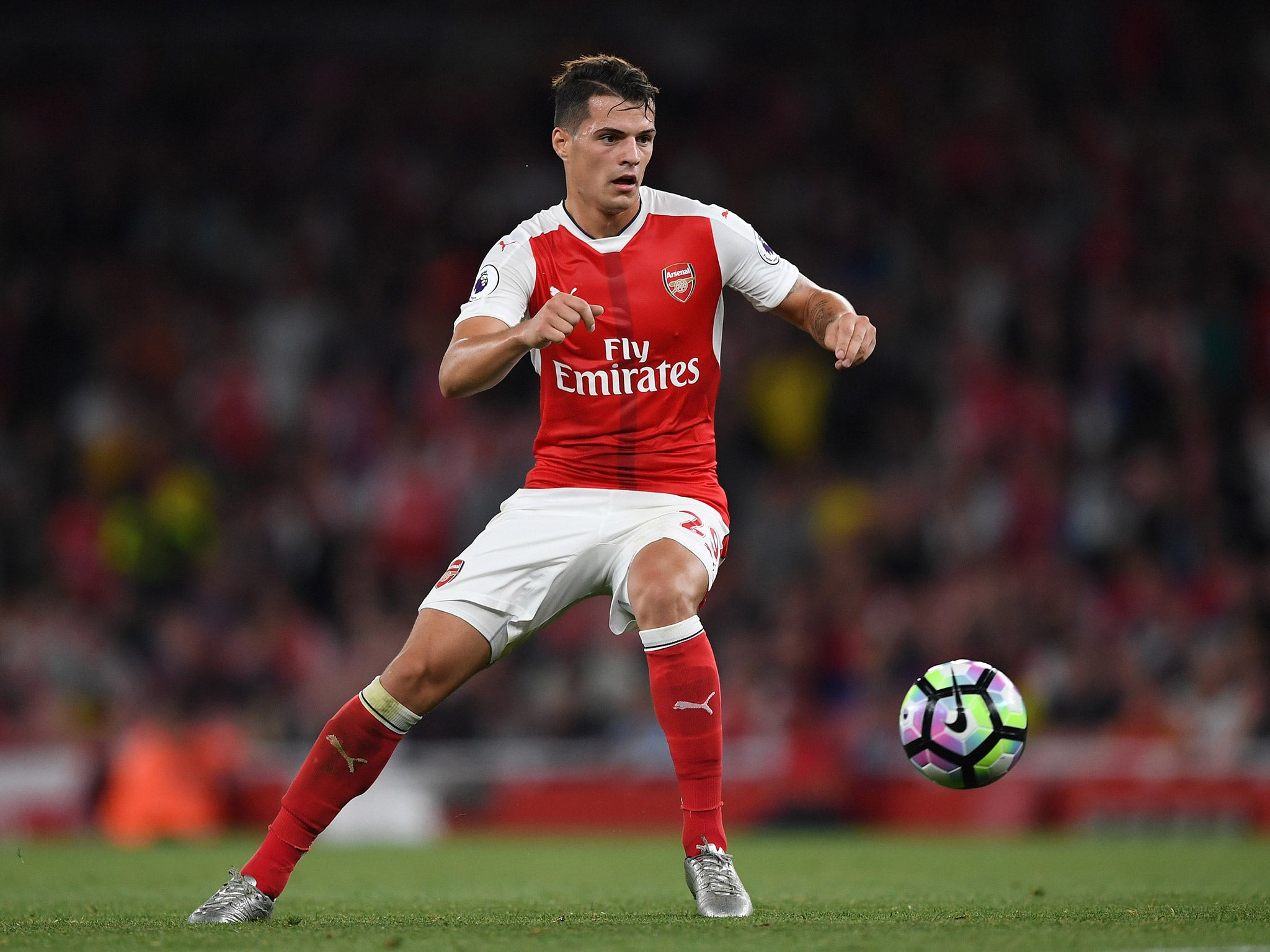 Arsenal vs Basel team news: Granit Xhaka and David Ospina start as Arsene Wenger refuses to ring the changes | The Independent
