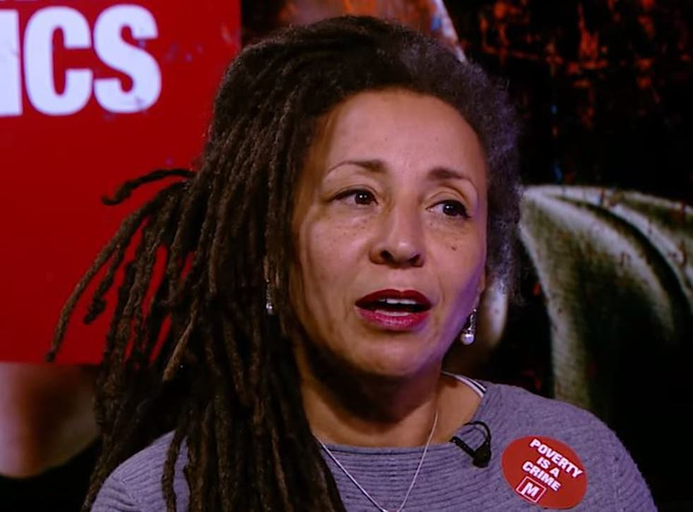 Jackie Walker reportedly made the comments at a Labour party anti-Semitism training event