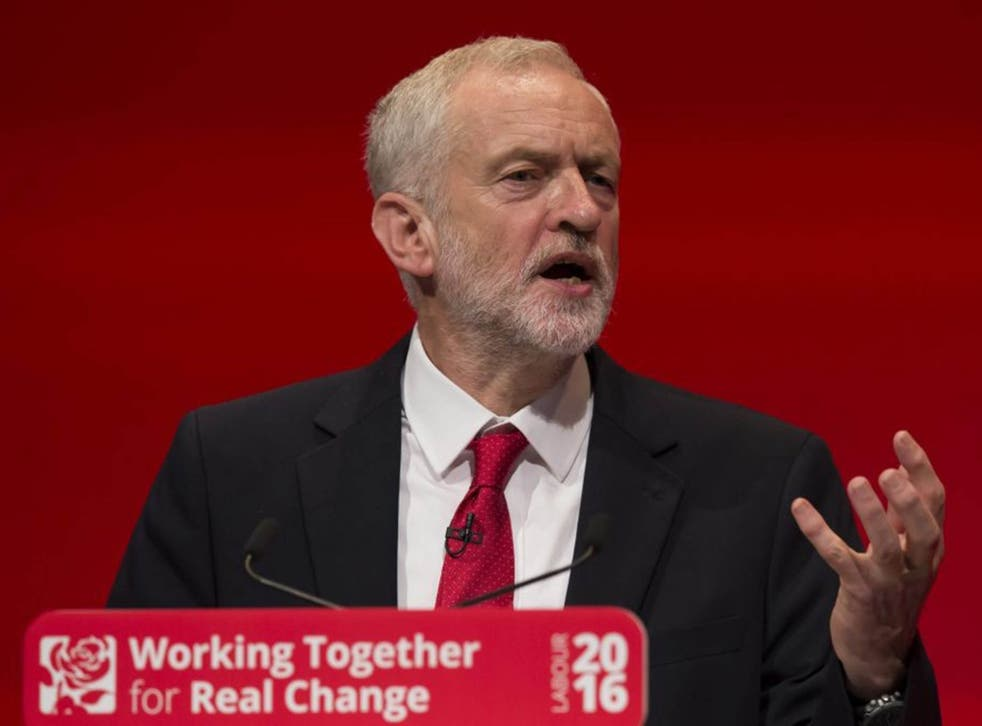 The Labour leader hit out at Donald Trump and Nigel Farage, saying they would do nothing to help those seeking 'real control'