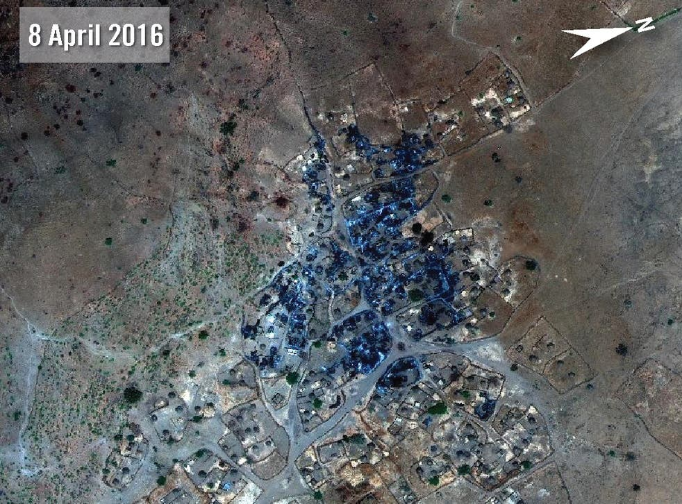 The Sudanese government has previously denied allegations of abuses in Darfur since it launched a major military offensive in January