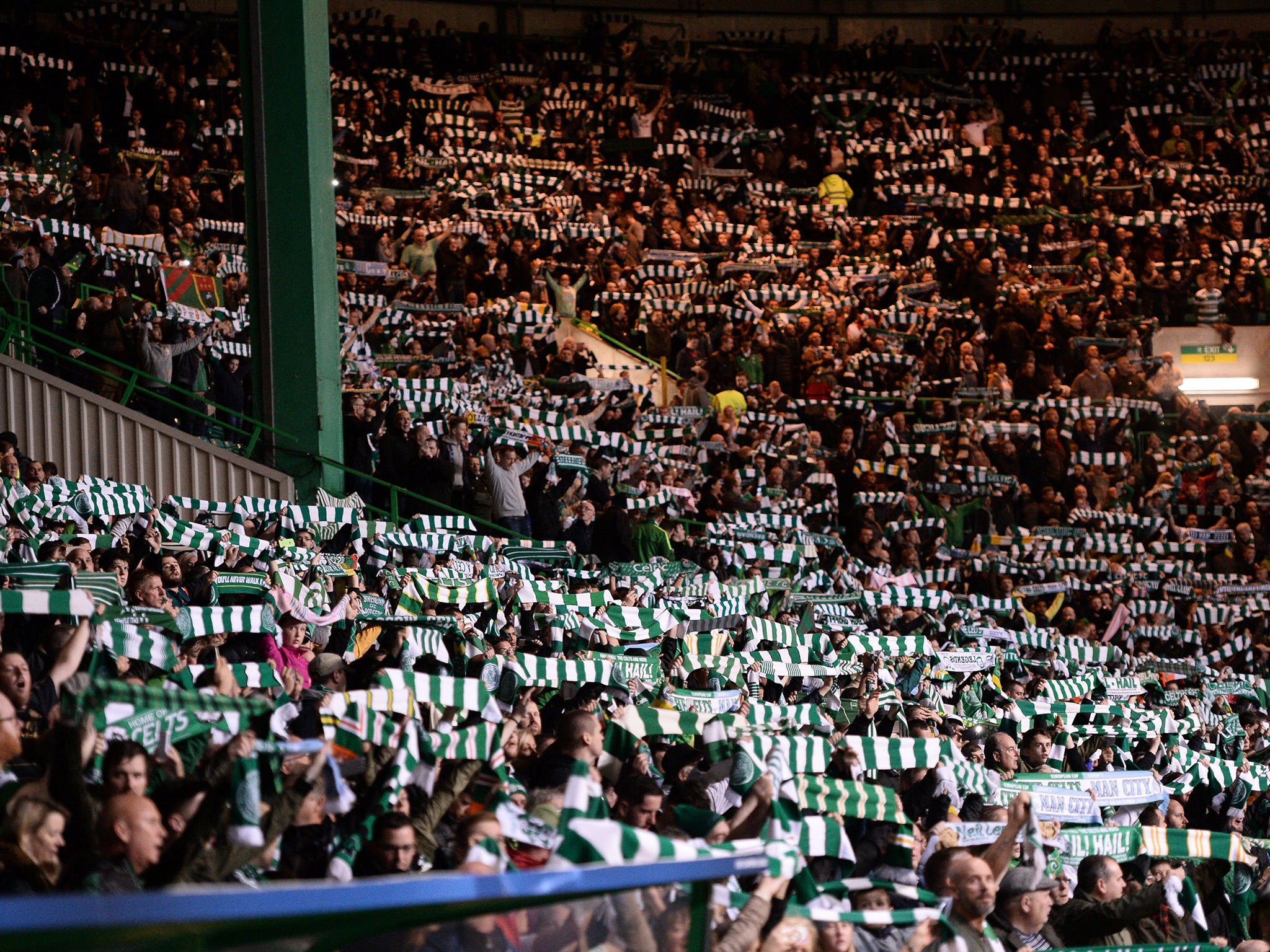 Celtic Vs Manchester City The Night Park Summoned Spirit Of Lisbon Lions In A Memorable Moment