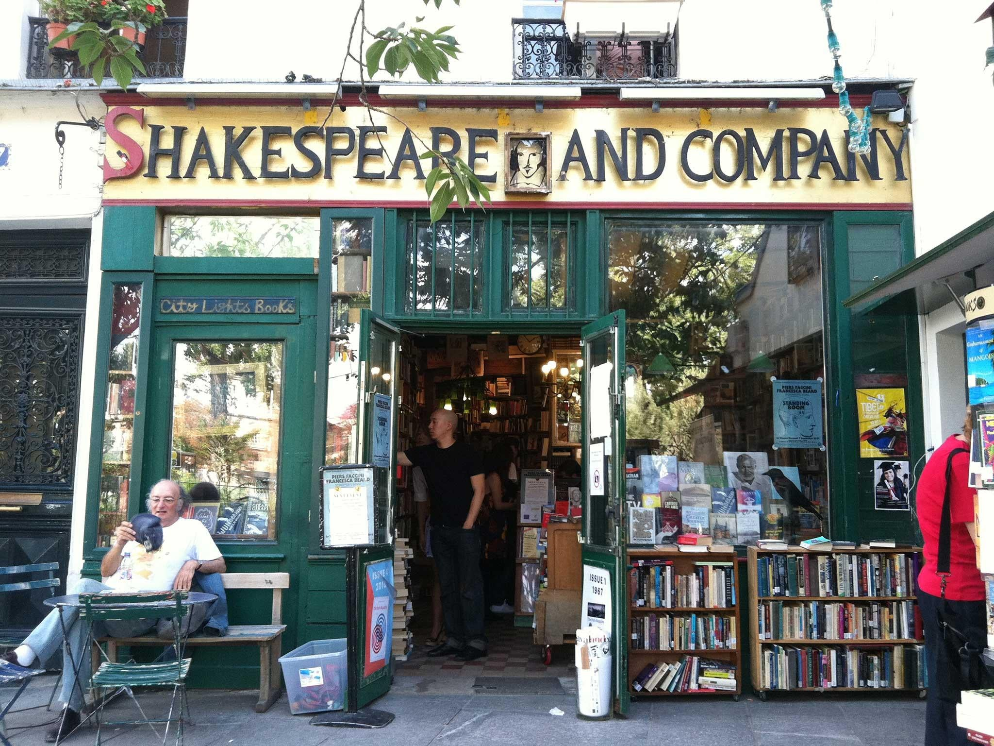 Image result for shakespeare and company