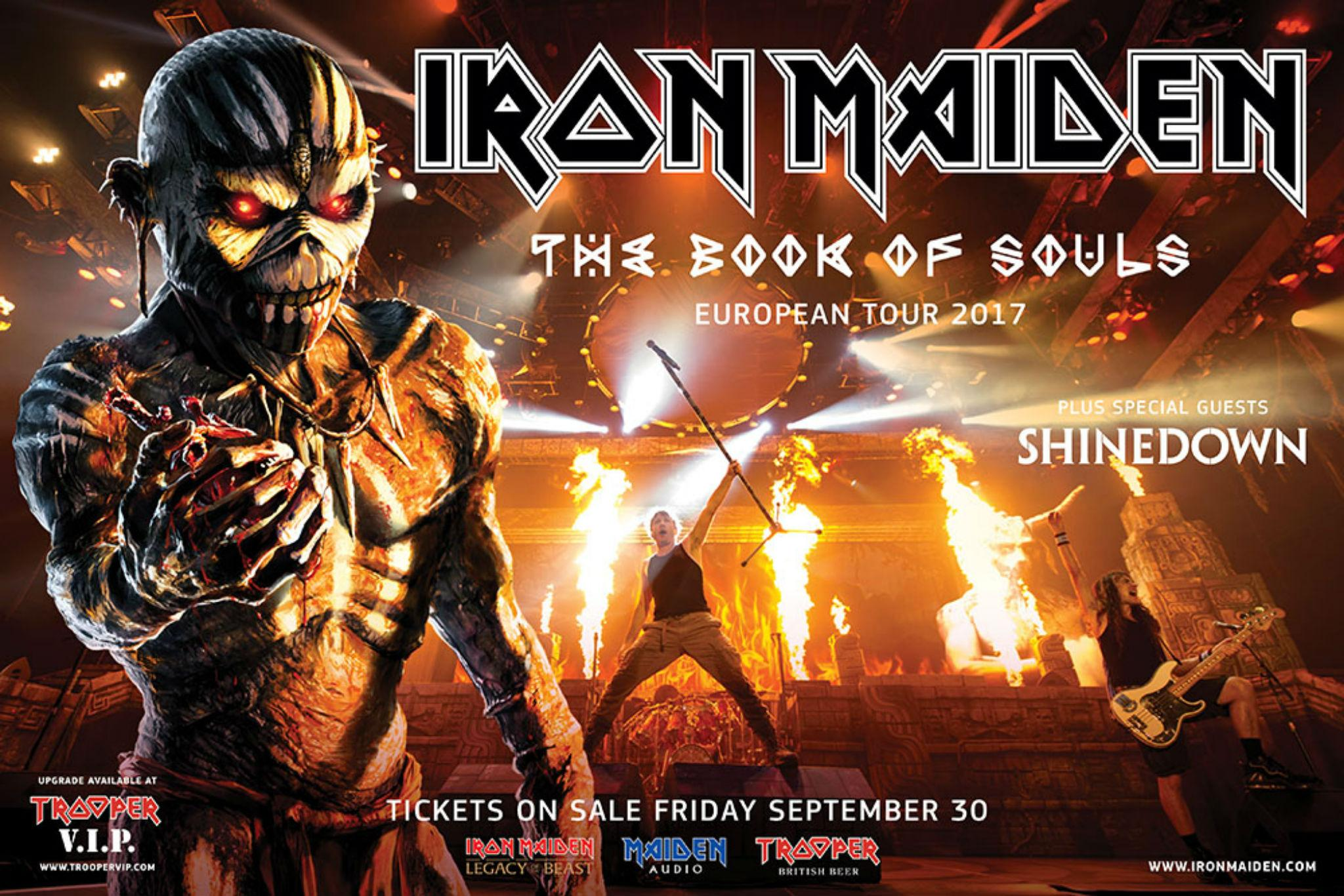 Iron Maiden Tour : iron maiden tickets how to get tickets to the book of souls uk tour 2017 london glasgow ~ Russianpoet.info Haus und Dekorationen