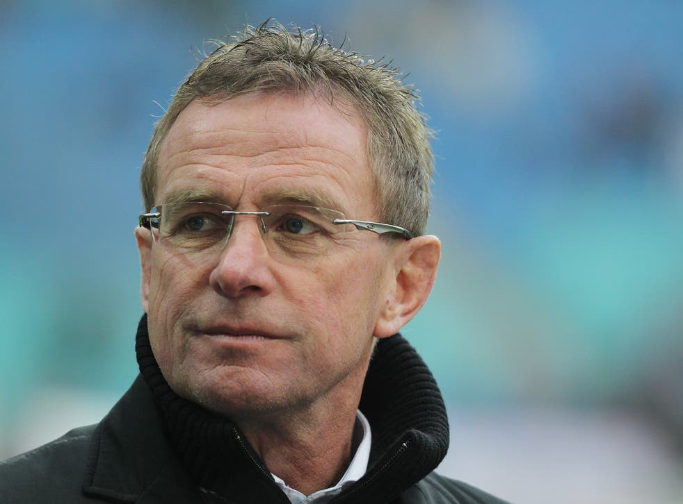 Rangnick is currently sporting director at RB Leipzig