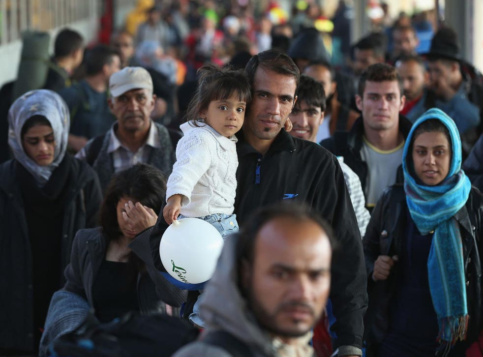 More than a million refugees have arrived in Germany since the start of the crisis