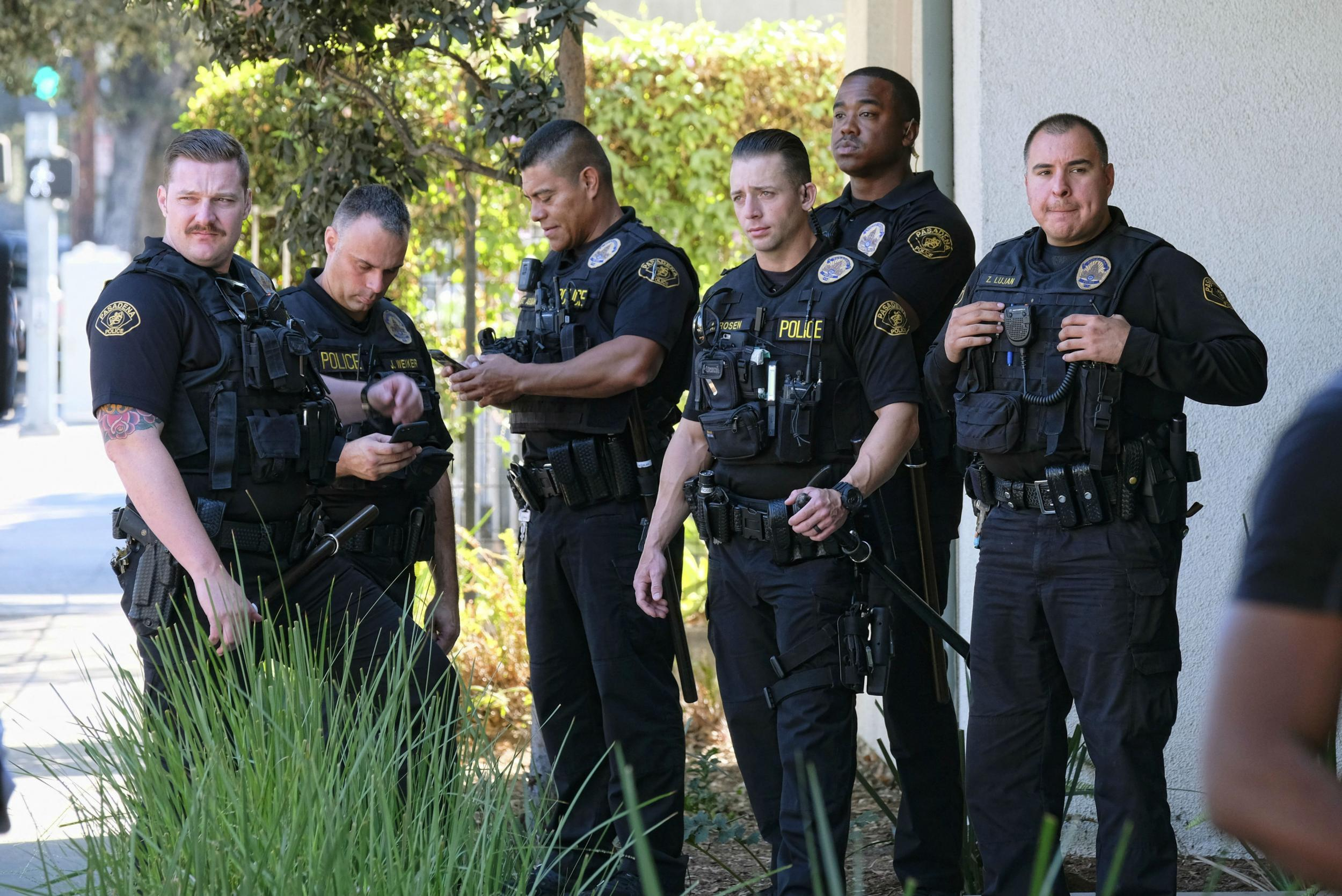 Black man dies after being tasered twice by police in california the independent - Police officer in california ...