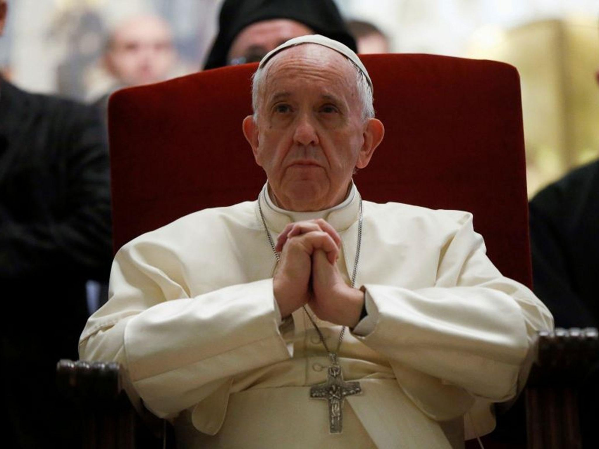 Pope Francis says gender theory is part of a 'global war' on marriage and family