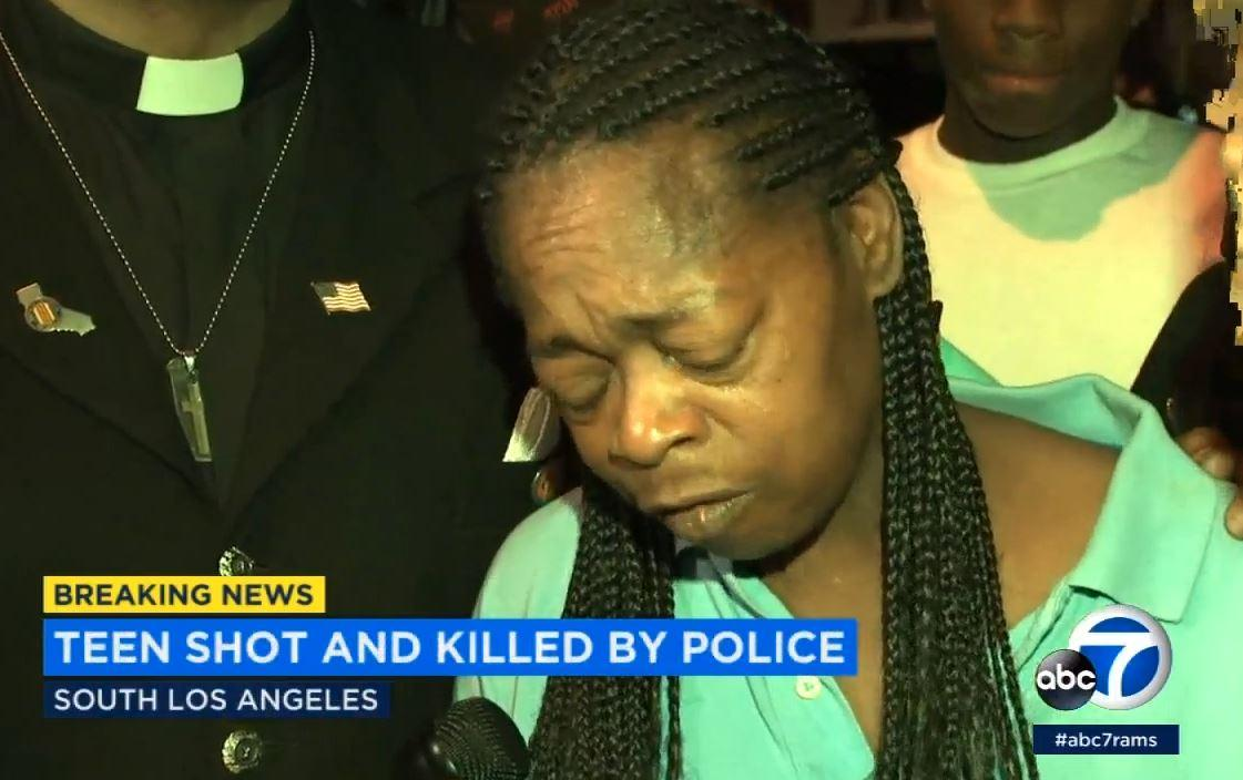 Carnell Snell Jr: Black teenager shot dead by police in Los Angeles in front of younger sister