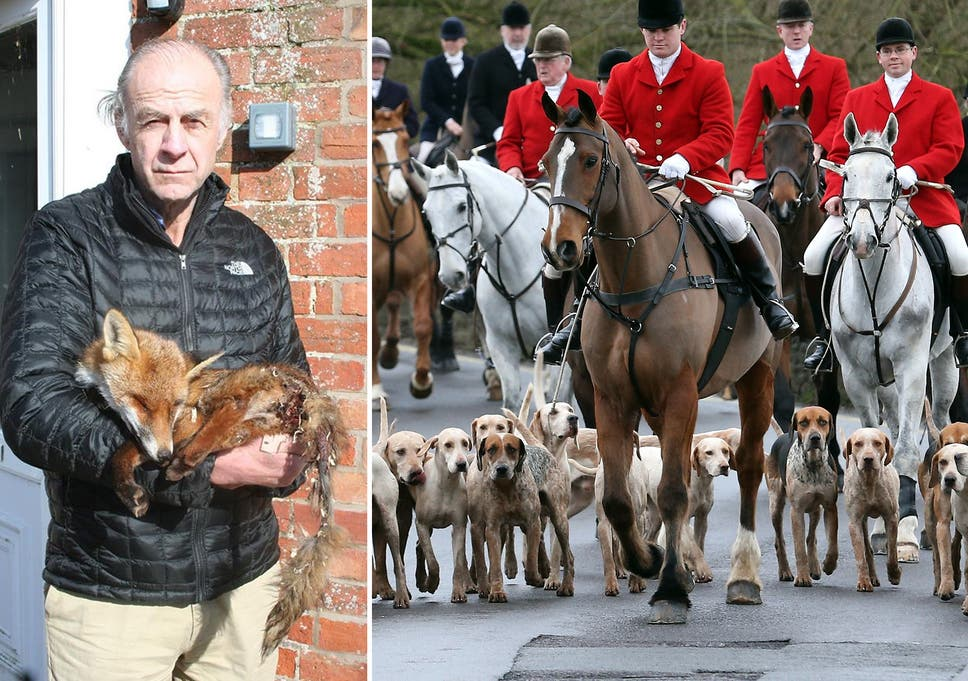 Sir Ranulph Fiennes decides hunting is wrong after trying to save