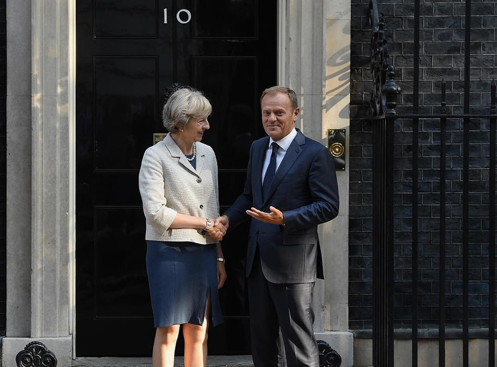 Donald Tusk, the European Council president, said the remaining EU countries intend to safeguard their interests